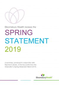 Budget Newsletter Spring Statement March 2019
