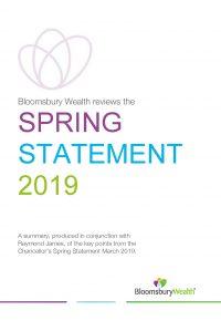 Budget Newsletter Spring Statement March 2019